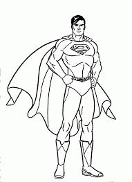 Cartoon Superman Pics Kids Coloring