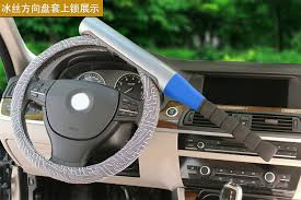 blocco volante auto anti furto mazza da baseball ruota di sterzo blocco volante