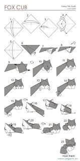 origami halloween best 25 origami fox ideas on pinterest origami renard www