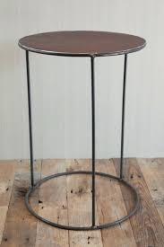 round wood and metal side table side tables metal and wood side table target wood metal side table