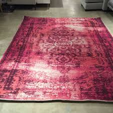 West Elm Rug by New West Elm Distressed Arabesque Wool Rug 8 X 10 In Shockwave