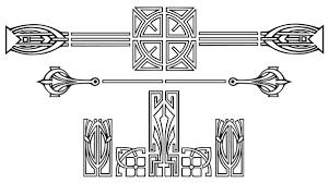 Art Deco Design Elements Art Deco Border Free Download Clip Art Free Clip Art On