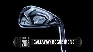 callaway rogue pro irons review clubtest 2018 golf com
