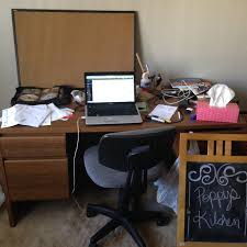 Clean Computer Desk Step One Clean My Desk Poppy Writes A Book