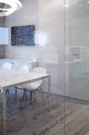 Transparent Acrylic Chairs Sensational Hi Home With Transparent Glass Wall Partition