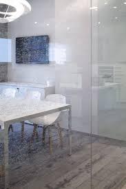 sensational hi home with transparent glass wall partition
