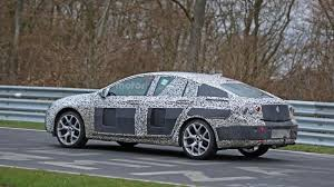 opel insignia 2016 interior 2017 opel insignia caught on spy on the nurburgring automotorblog