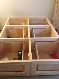 Diy Platform Bed Base by Best 25 Bed With Drawers Ideas On Pinterest Bed Frame With