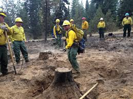 Wild Fires In Oregon State by Oregon Guard Airmen And Soldiers Conducting Fire Cleanup As Blazes