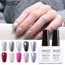aliexpress com buy elite99 10ml pearl glitter gel nail polish