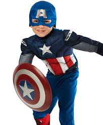 halloween costumes captain america the avengers captain america classic muscle chest child costume