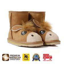 ugg boots ugg boots child pony mini australian shepherd non