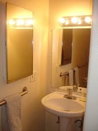 bathroom light interesting installing bathroom wall light