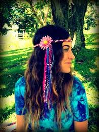 hippie flower headbands flower power hippie headbands halos sunflower