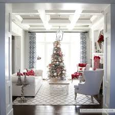 beautiful homes decorated for christmas christmas formal living room decked and styled home tour the