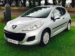 peugeot 207 2007 used peugeot 207 urban for sale motors co uk