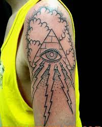 collection of 25 lightning eye pyramid flash