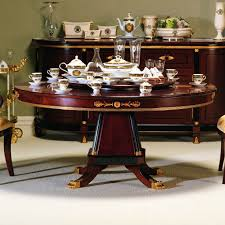 Large Round Dining Table Seats  Kobe Table - Round dining room tables seats 8