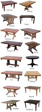 Types Of Dining Room Tables Beautiful Dining Table Style 22 Types Of Dining Room Tables