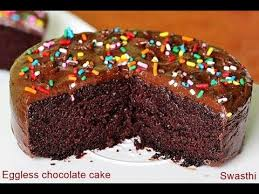 eggless chocolate cake recipe how to make chocolate cake without