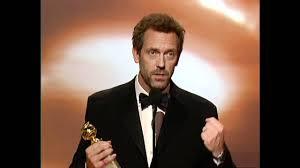 hugh laurie wins best actor tv series drama golden globes 2007