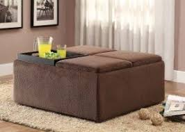 ottomans with casters foter