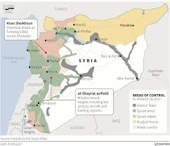 Damascus Syria Map by U S Launches Attack On Syrian Military Target With Cruise