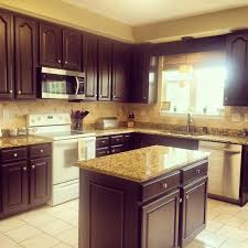 kitchen colors with chocolate cabinets chocolate kitchen transformation general finishes