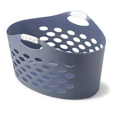 Pretty Laundry Hampers by Amazon Com Rubbermaid Fg260100roybl Flex U0027n Carry Laundry Basket