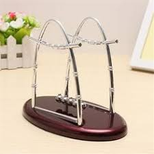 Swinging Desk Balls Newtons Cradle Balancing Swinging Metal Balls Physics Pendulum