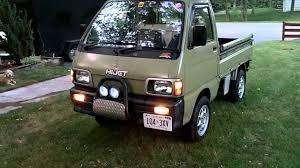 suzuki pickup for sale led light conversion 1992 daihatsu hijet s83p youtube