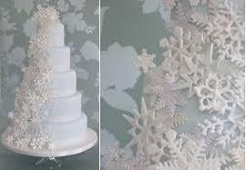 snowflake wedding cakes u0026 tutorials cake geek magazine