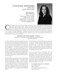 Real Estate Salesperson Resume Professional Real Estate Professional Resume