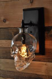 skull wall sconce crystal head vodka awesome i u0027m gonna go