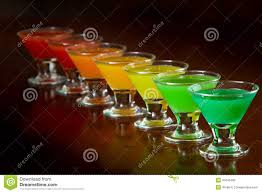 rainbow cocktail rainbow shots stock photo image of juice cocktail drink 31643490