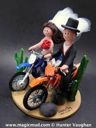 motocross bike cake dirt bike wedding cake toppers