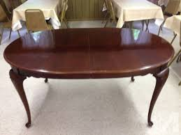 Drexel Heritage Dining Room Set Drexel Heritage Oval Dining Table For Sale In Bridgewater