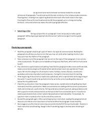 What Is Chronological Resume Paragraph Skills