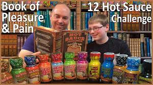 Challenge Sauce 12 Sauce Challenge Book Of Pleasure Crude Brothers