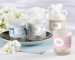 baptism candle favors frosted glass baptism candle favors aa gifts baskets