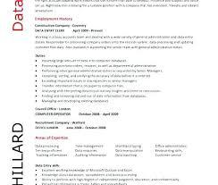 data entry resume data entry resume sle data entry me sle skills with no