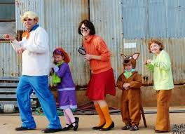 Scooby Doo Halloween Costumes Family 11 Twins Ideas Images Costume Ideas