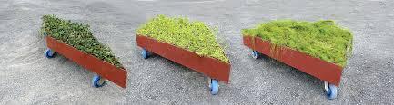 Planters On Wheels by Fractal Garden U2014 Legge Lewis Legge