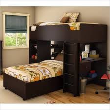 Twin Over Twin Convertible Loft Bunk Bed Bunk Beds Student Loft - L shaped bunk beds twin over full