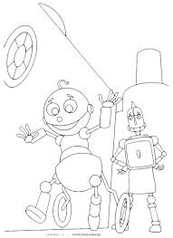 robot coloring page coloring pages gallery