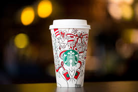 starbucks just released their 2017 holiday cups and drinks