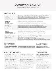 Resume Sample Young Professional by Resume Examples Byu Resume For Your Job Application