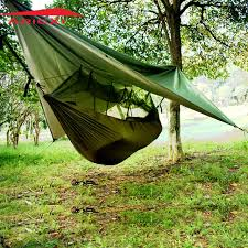 aricxi military tree tent hammock tent with anti mosquito net mesh