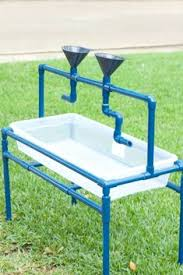 how to build a sensory table how to make a pvc pipe sand and water table sensory table pvc