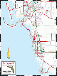Florida Interstate Map by Fort Myers U0026 Naples Fl Map